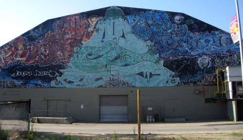 Memorial-arena-tagger-graffiti